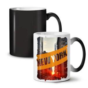 New York City Street NEW Colour Changing Tea Coffee Mug 11 oz | Wellcoda