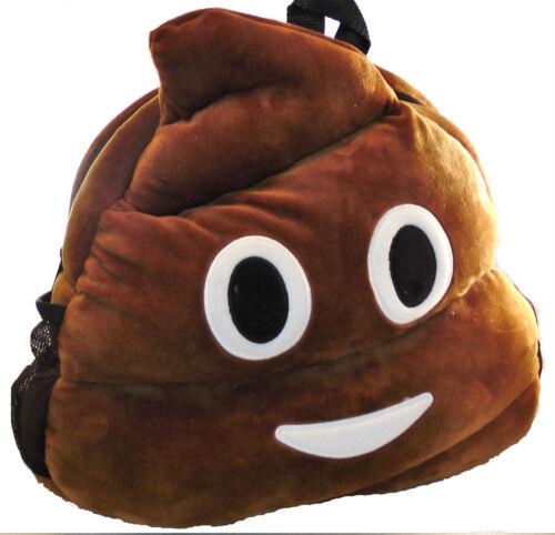 Emoji Poop Backpack Bag For Kids and School
