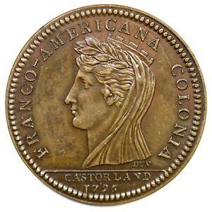 1796-Early-Restrike-Castorland-Medal