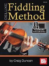 DELUXE FIDDLING METHOD BOOK FIDDLE VIOLIN