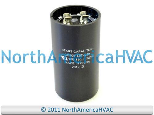 NEW Motor Start Capacitor 108-130 MFD 220 250 VAC Volt Supco CS108-130X220
