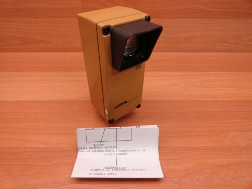 NEW JAY ELECTRONIQUE PFT012 PHOTOELECTRIC SENSOR RECEIVER 75 METER 24 VDC