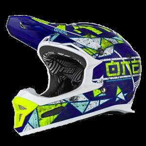 O'Neal Fury 61/62cm Rl Casco ZEN Azul XL 61/62cm Fury Full Face Bicicleta Downhill Freeride b828e8