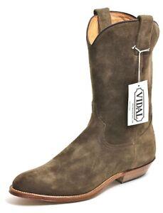 96 Westernstiefel Cowboy Stiefel Line Dance katalanischen Stil Leder 1219 Vidal 38