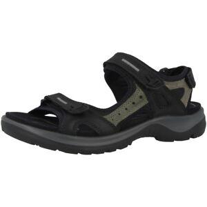 Zu Trekking 50034 Ladies Ecco Details Schuhe Offroad Yucatan Sandale 069563 Black Damen Ygbf6yv7