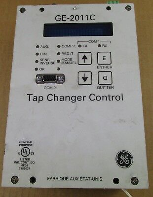 GE GENERAL ELECTRIC STEP VOLTAGE REGULATOR CONTROL GE-2011C