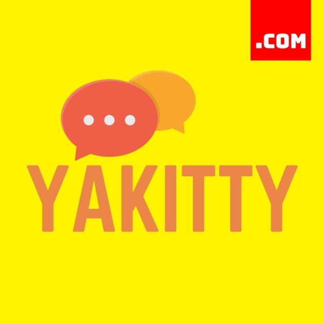 YAKITTY.COM - 7 Letter Domain - Short Domain Name - Catchy Name .COM Dynadot