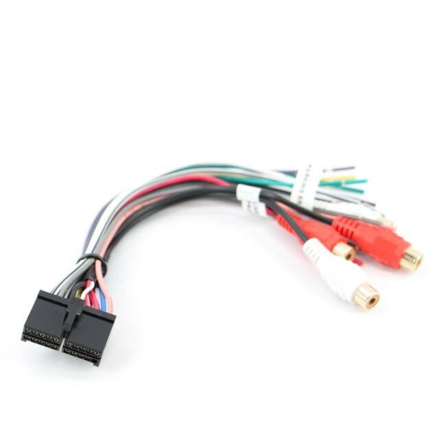xtenzi 20 pin dual xdvd8180 cd mp3 dvd tv power wire harness xtenzi 20 pin wire harness for dual power plug radio xhd7720 xdm6825 xd7500 new