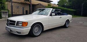 Mercedes-Benz-500-SEC-SGSHH-Cabrio-in-Topzustand-TUV-6-2020-H-Zulassung