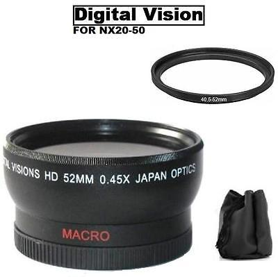 NX210 NX11 NX30 Lens Filter Accessory Kit For Samsung NX 18-55mm Lens with NX2000 NX20 NX100 NX110 NX500 NX200 NX300 NX1000 NX1100