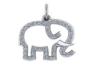 14k yellow gold elephant pendant with 025ct diamond necklace charm image is loading 14k yellow gold elephant pendant with 0 25ct aloadofball Choice Image