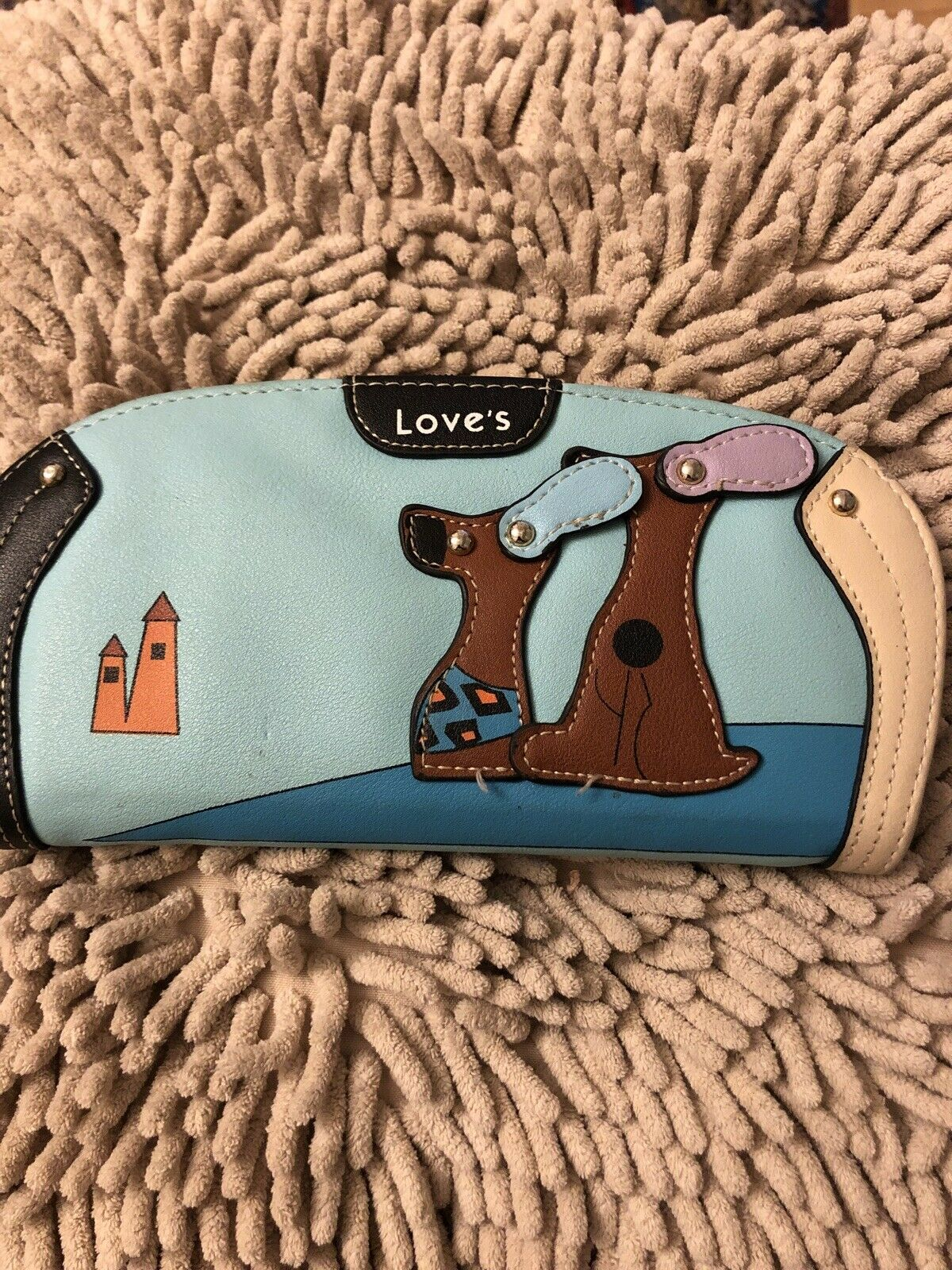 Love's Ladies Dog Design / Puppy themed Wallet / Purse Sausage Dog