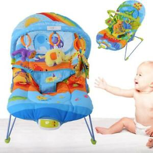 Baby-Swing-Infant-Cradle-Electric-Rocker-Bouncer-Vibration-Chair-Toy-Music-Seat