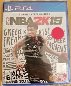 eff046a20 Image is loading NBA-2K19-Playstation-4-2018-PS4-Brand-New-