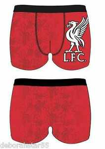 Mens Adult Official Liverpool FC Football Club Team Boxer Trunks Shorts S M L XL