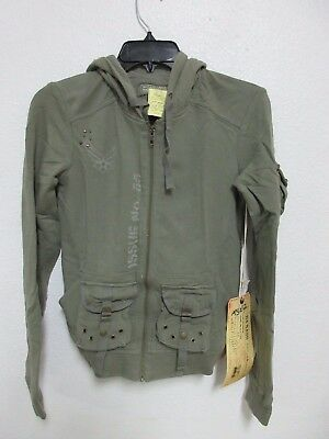 Da-nang Surplus Donna Pullover Posteriore Perline Milit Ftg23741857 Taglia: Xs