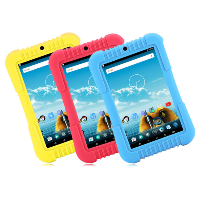 "iRULU 7"" 16GB Babypad Android 5.1 Quad Core Tablet PC for Education Kid Children"