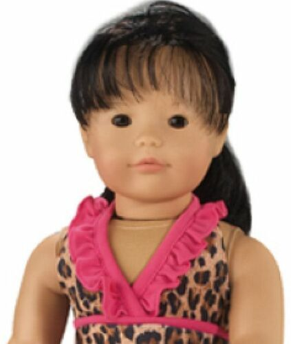 """Doll Clothes 18/"""" Bathing Suit Leopard Cover Dress  Fits American Girl Dolls"""
