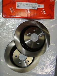 Front 348 mm And Rear 345 mm Brake Disc Rotors For BMW X5 4.8I xDrive48i