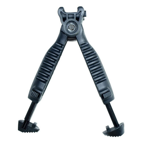 Tactical T-Pod Foldable Foregrip Bipod Stand Holder Rail Mount Adjustable