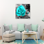 Canvas-Wall-Art-Teal-Rose-Flowers-Pictures-Wall-Decor-Prints-Painting-Framed thumbnail 3