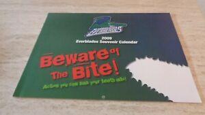 2009 Florida Everblades ECHL Hockey Team-issued Calendar - NMT
