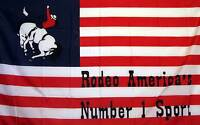Us Rodeo 1 Historical 3' X 5' Banner Flag
