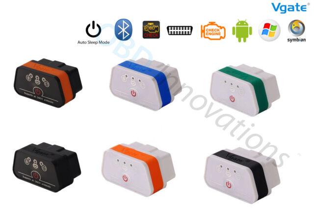 Vgate iCar 2 ELM327 Bluetooth OBD2 Car Scanner + Bluetooth CSR V4.0 USB Dongle