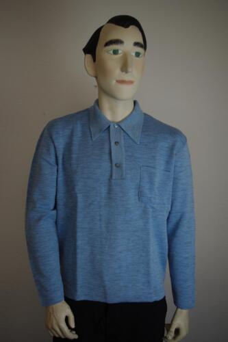 True anni Polo maglione '60 '70 Maglione '60 52 blu Vintage anni Nos anni '70 uomo anni gr wqxx7ATSn