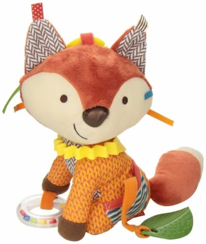 Educational Gift For Baby Toddler Kid Bandana Buddy Soft Fox Learn Activity Toy