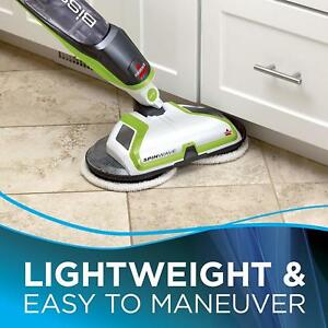 Electric-Mop-BISSELL-Spinwave-Hardwood-Floor-Cleaner-Spinning-Pads-Sweeper