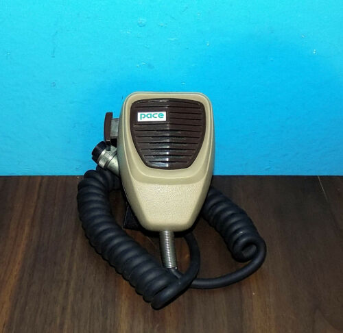 Rare PACE Pathcom MM-2 Handheld Mic Microphone 5 Pin Free Shipping