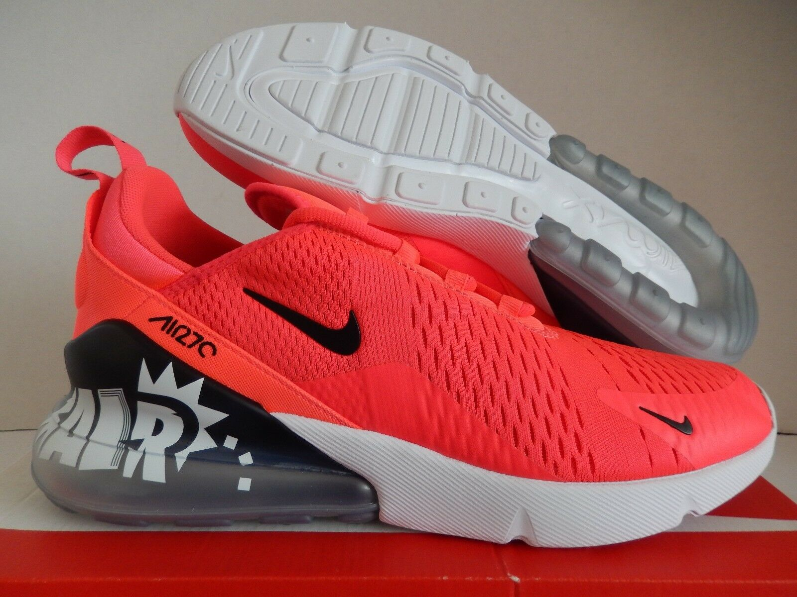 Nike Air Max 270 [BQ0742-995] ID de infrarrojos-Negro- blanco o [BQ0742-995] 270 8ee336