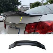 For Chevrolet Cruze 10 15 Carbon Fiber Rear Spoiler Tail Trunk Lip Wing Bar 1pcs Fits Cruze