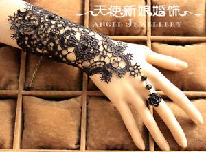Lace-ONE-Piece-Wedding-Party-Beach-Bridal-Bracelet-Anklet-Arm-Chain-Accessories