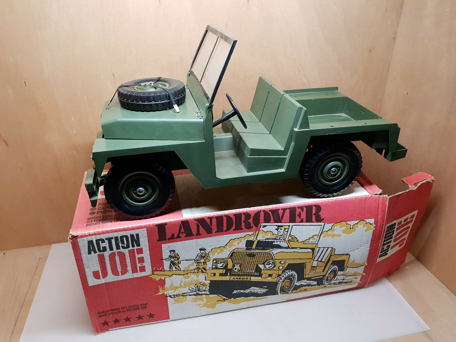 Azione Joe Lerover  Jeep Hasbro 1975 su la Sua Scatola Originale  n ° 1 online
