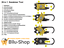 20-in-1-EDC-Multitool-Schluesselanhaenger-Multiwerkzeug-Karabiner-Survival-Tool Indexbild 2