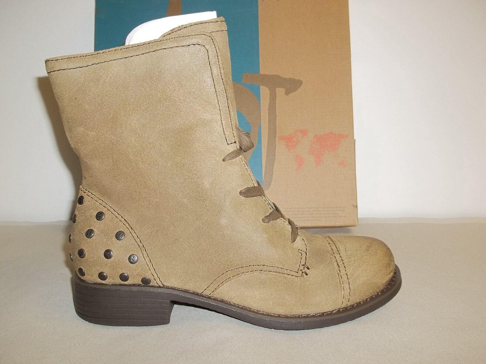 OTBT Größe 8.5 M Bridgeman Braun Distressed Leder Ankle Boats NEU Damenschuhe Schuhes