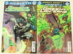 Green-Lanterns-16-amp-Variant-Rebirth-DC-Comics-1st-Print-2017