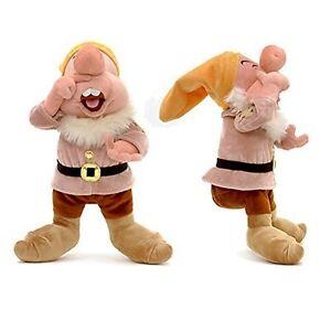 Disney à Conserver Neige Blanche & Les Sept Nains 30cm Éternuant Jouet Doux En Ture 100% Garantie