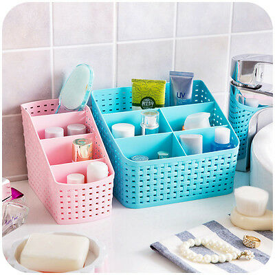 Cute Desk Organizer Jewelry Storage Box Makeup Cosmetic Case Storage Container