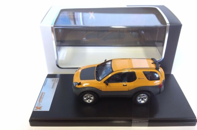 1:43 PremiumX Isuzu VehiCROSS 1997 yellow