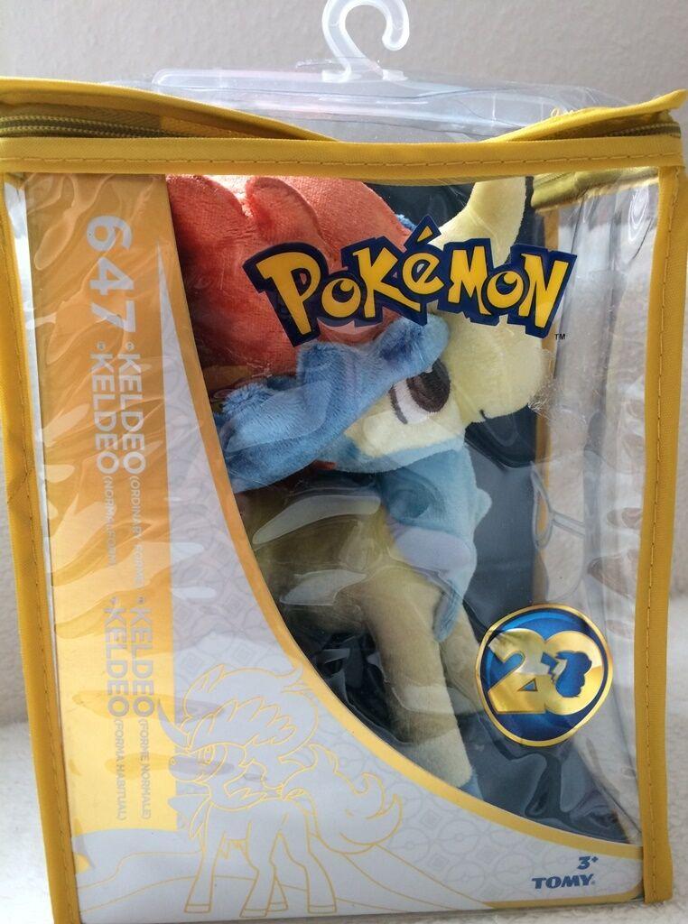 20th Anniversary Limited Edition Pokemon 647 Keldeo (Normalform) - NEU & OVP