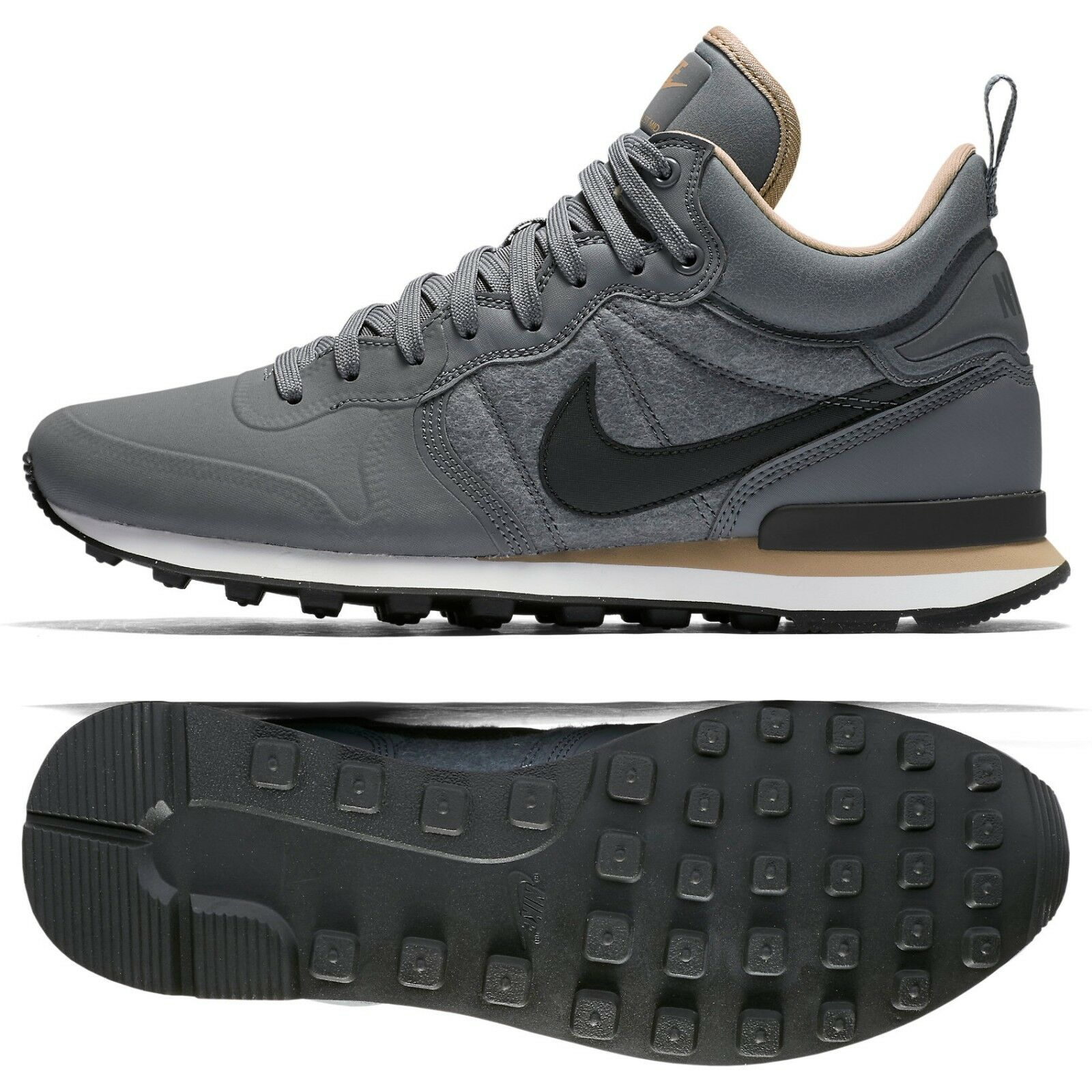 Nike Internationalist Utility Wool Upper Pack 857937-003 Grey/Pewter Men's Shoes Comfortable and good-looking