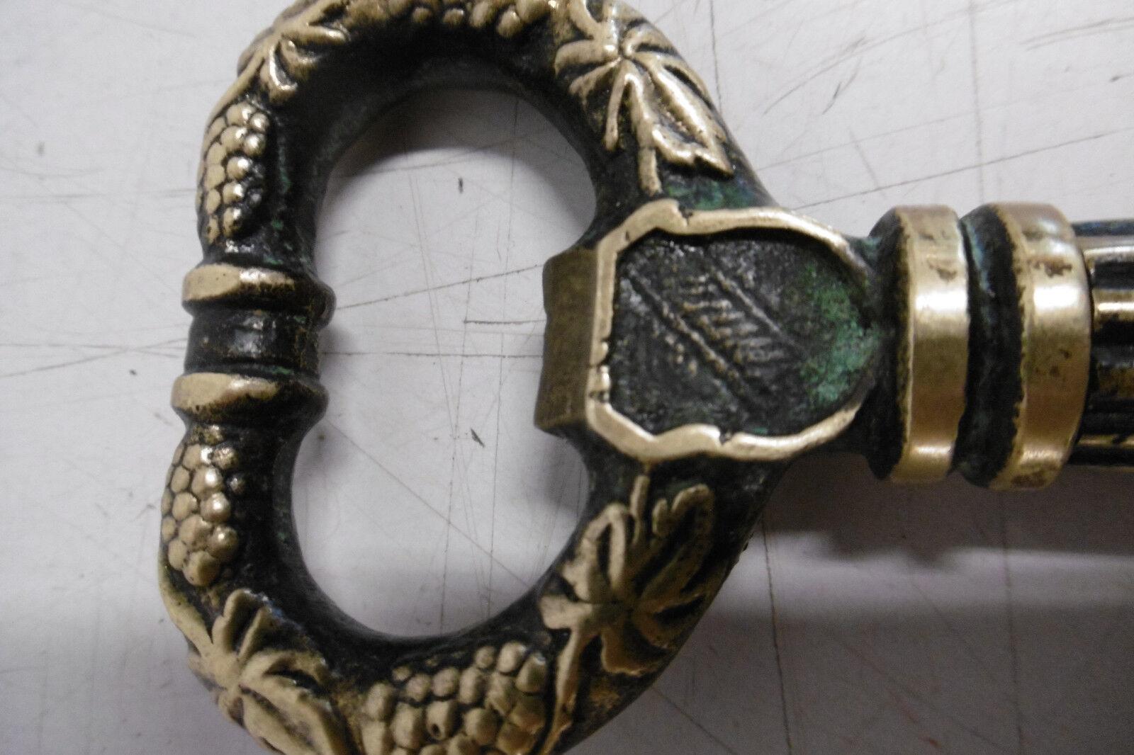 Messing Korkenzieher Schlüssel Key Corkscrew Flaschenöffner Patina Patina Patina 60er | Deutschland Store  93bf68