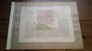 1880 Valverde y Alvarez, Mapa de la Provincia de Huelva Andalucia (Spain Map)