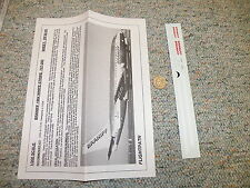 Flight Path decals 1/200 FP20-45  Braniff 1984 white stripe 737-200  H81