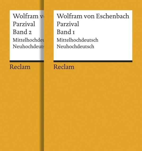 Parzival: Buch 9-16. Mittelhochdt. /Neuhochdt.: Mittelhochdeutsch / Neuhochdeuts