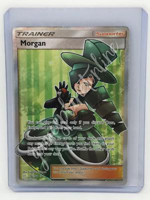 x4 Morgan 149//181 Uncommon Pokemon SM9 Team Up M//NM English