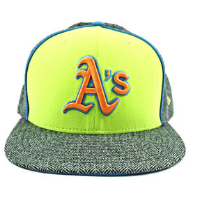 52b84694348 Image is loading Oakland-Athletics-Unisex-Hat-NEW-ERA-Gray-Fitted-